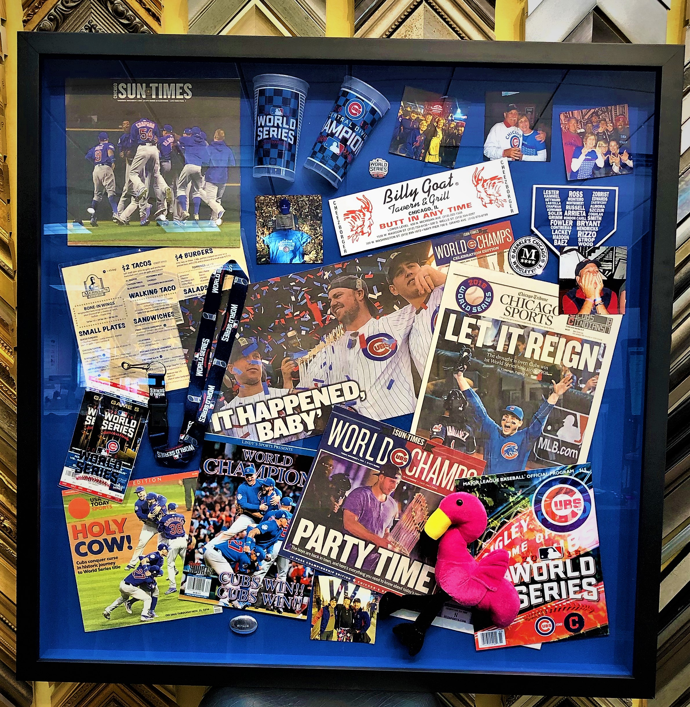Cubs Shadow Box